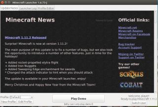 Pagina De Pornire Demo Minecraft