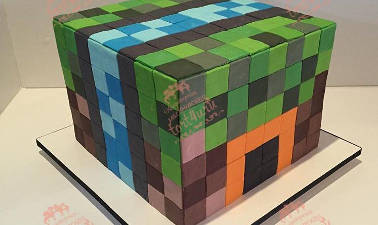 Tort Cub Simplu Minecraft