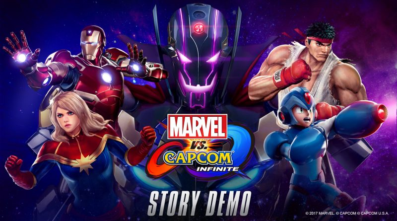 Marvel vs. Capcom: Infinite story demo