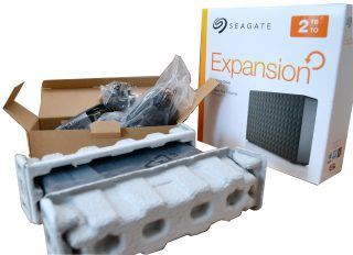 HDD extern Seagate Expansion 2TB Ambalare
