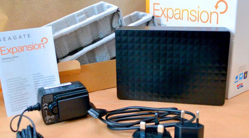 "HDD extern Seagate Expansion 2TB, 3.5"", USB 3.0, Negru"